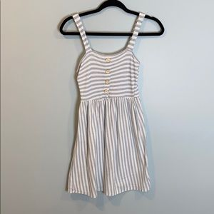 Caution To The Wind Knit Striped Summer Dress